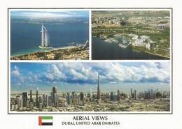 DUBAI. Burj Khalifa, The World's Tallest Tower 828 M & Aerial Views. Carte Postale Neuve Non Circulée - Emirats Arabes Unis