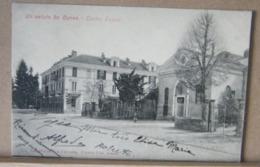 CUNEO, TEATRO JOSELLI  ANIMATA, VIAGGIATA 1905 - Cuneo