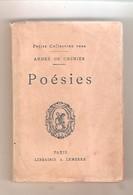 Petite Collection Rose - ANDRE DE CHENIER - POESIES - Paris Librairie A. LEMERRE  S.d. - Poésie