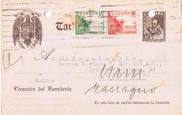 3 Cartoline Postali Anni '40 Con Fori Di Archiviazione - 1 Bollo Mancante -timbri Censura - 1931-50 Storia Postale