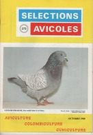SELECTIONS AVICOLES AVICULTURE COLOMBICULTURE CUNICULTURE OCTOBRE 1988 N° 273 - Animals