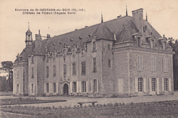 17. SAINT GEORGES DU BOIS . CPA. CHÂTEAU DE POLEON. FACE NORD. - France