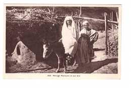 Maroc Ménage Marocain Et Son Ane Couple Homme Femme Type Types - Autres