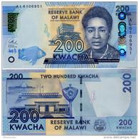 MALAWI       200 Kwacha       P-New       1.1.2016       UNC  [ Sign. Chuka ] - Malawi