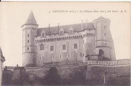 CPA - 3. SAUMUR Le Château Côté Nord - Saumur