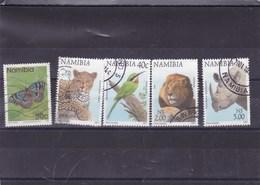 NAMIBIE : Y&T : 711 O-818 O-824 O-832 O-834 O - Namibie (1990- ...)