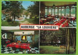 """FORT-MAHON-PLAGE - AUBERGE """"LA LOUVIERE"""" Multivuescarte Circulé 1971 - Fort Mahon"""