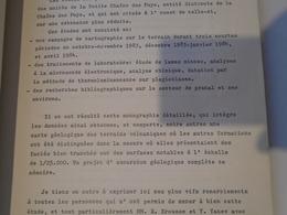 LE VOLCAN DE PRANAL 1984 BERNARD PIET (Mémoire De DEA) - Auvergne