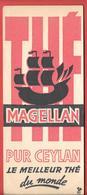 Buvard Ancien - MAGELLAN - PUR THE De CEYLAN -  Coq Girouette R.F. - Kaffee & Tee