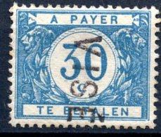BE   TX30B   XX   ---   Surcharge : Visé  --  COB : 90 Euros - Postage Due