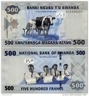 RWANDA       500 Francs       P-38       1.1.2013       UNC - Rwanda