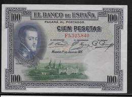 Espagne - 100 Pesetas - 1925 - Pick N°69 - SUP - [ 2] 1931-1936 : Repubblica