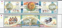 Cook Islands 1992 Yvertn° 1049-1054 *** MNH  Cote 24,00 Euro Sport Jeux Olympiques Barcelona - Cook