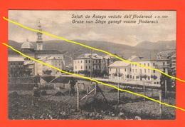 Asiago Dall'Hodarach Gruze Vun Slege Italiano / Cimbro Cpa - Vicenza