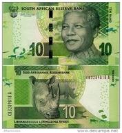SOUTH AFRICA       10 Rand       P-138a       ND (2013)       UNC - Zuid-Afrika
