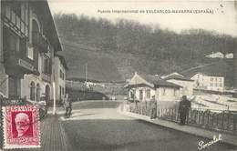 PUENTE INTERNATIONAL DE VALCARLOS NAVARRA (espagne) - Douane