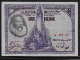 Espagne - 100 Pesetas - 1928 - Pick N°76 - SUP - [ 2] 1931-1936 : Republiek