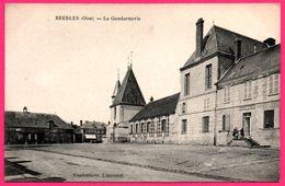 Bresles - La Gendarmerie - Animée - Edit. VANDENHOVE - France