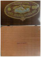 SCATOLA SIGARI VINTAGE GM DE TOBACOS EL SURCO TIPO HABANOS EMPY CIGAR BOX - Scatola Di Sigari (vuote)