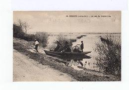 Bouaye. Loire Inférieure. Le Lac Grand Lieu. Barque Avec Nasses. (2919) - Pêche