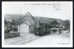 Ancienne Reproduction D'une CPA - Le Sarladais - Daglan - La Gare (avec Train) - Voir 2 Scans - Other Municipalities