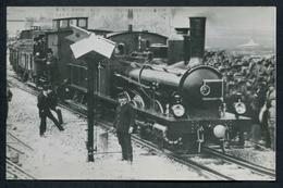 Ancienne Reproduction D'une Photo - Réseau Sud-France SF - Draguignan - Très Belle Image Avec Train - Voir 2 Scans - Draguignan