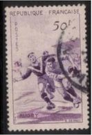 1074 - 1956 - Rugby - Cachet Rond - France