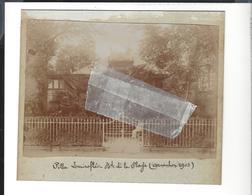Arcachon - Villa Lomiroflé , Bd De La Plage , Phot. Format  Visuel Env.11,8 X 15,5 Cm - 1903 - Lieux