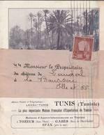 Tunis - 1912 - Petit Catalogue  Maison LAVAU - (fruits , Huile, Vins ..) - Invoices & Commercial Documents
