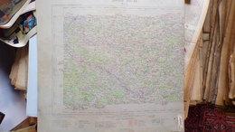 24- DORDOGNE- CARTE SECTEUR NONTRON-PIEGUT-BUSSEROLLES-MILHAGUET-MARVAL-ABJAT-MARTHON-MONTBRON-CHARRAS-MAZEROLLES-ECURAS - Cartes Topographiques