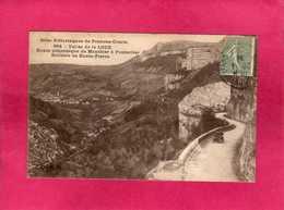 25 Doubs, Vallée De La Loue, Route Pittoresque De Mouthier à Pontarlier, Animée, Voiture, 1924, (C. Lardier) - Francia