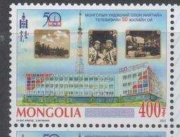 MONGOLIA, 2017, MONGOLIAN TV, ASTRONAUTS, 1v - Stamps