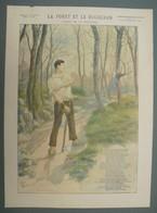 La Forêt Et Le Bucheron (Fable De La Fontaine) - Imagerie Artistique Illustrée - Série 8 - N°20 - Estampes & Gravures