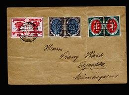 A5477) DR Brief Weimar Nationalversammlung 1.7.19 N. Apolda - Deutschland