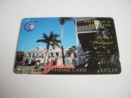 TELECARTE ANTIGUA ET BARBUDA NELSON'S DOCKYARD N°6CATB049629 - Antigua Et Barbuda