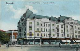 - Pays Div.-ref-L870bis - Roumanie - Temesvar - Ferencs Jozsef Ut - Franz Josestrasse  -  Carte Bon Etat - - Romania