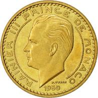 Monnaie, Monaco, 50 Francs, 1950, TTB+, Cupro-Aluminium, Gadoury:MC 141, KM:E30 - Monaco