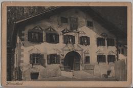 Altes Bündnerhaus - Schmitten - Photo: Gust. Walty - GR Grisons