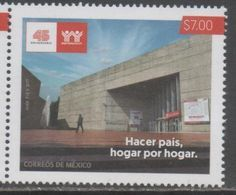 MEXICO, 2017, MNH,INFONAVIT, BUILDING SOCIETY, 1v - Stamps