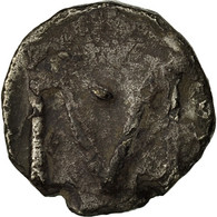 Monnaie, France, Denier, Marseille, TB+, Argent - 470-751 Monnaies Mérovingiennes