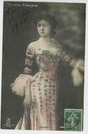 FEMMES - FRAU - LADY - SPECTACLE - ARTISTES - THEATRE - Portrait De GÉNIAT (Comédie Française ) - Femmes