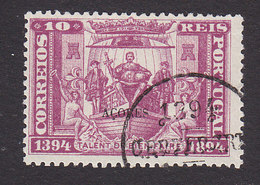 Azores, Scott #66, Used, Prince Henry On His Ship Overprinted, Issued 1894 - Azores