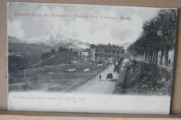 CUNEO, BALUARDO GESSO  DAL BELVEDERE, STRADALE DELLA STAZIONE, ANIMATA VIAGGIATA 1907 - Cuneo