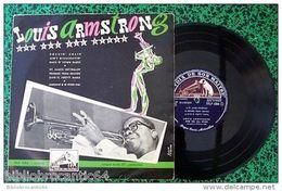 LP 25cm * LOUIS ARMSTRONG And His ALL STARS * < LA VOIX DE SON MAITRE  FFLP 1004 - Jazz