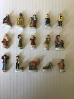 Série 11/25 Fèves Mâtes - CRECHE MANGER Arguydal 2001 - Santons