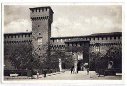 Milano - Castello Sforzesco - Torre Di Teodolinda - 1931. - Milano