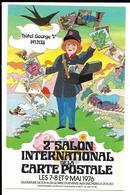 2e SALON INTERNATIONAL De La CARTE POSTALE. 1976. - Borse E Saloni Del Collezionismo