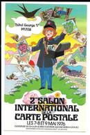 2e SALON INTERNATIONAL De La CARTE POSTALE. 1976. - Bourses & Salons De Collections