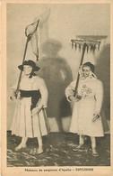 - Pays Div.-ref-L857- Portugal -costumes Portugais - Exposition De Paris 1937- Espozende -pecheurs De Sargasses D Apulia - Portugal