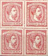 ESPAÑA    Nº 157    BLOQUE  4   Sin Charnela    -731 - 1873-74 Reggenza